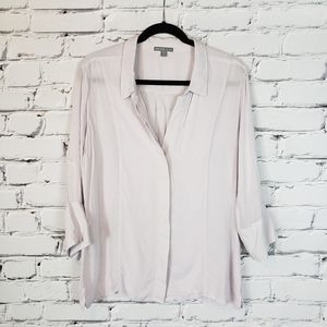 James Perse Lilac Button down Shirt